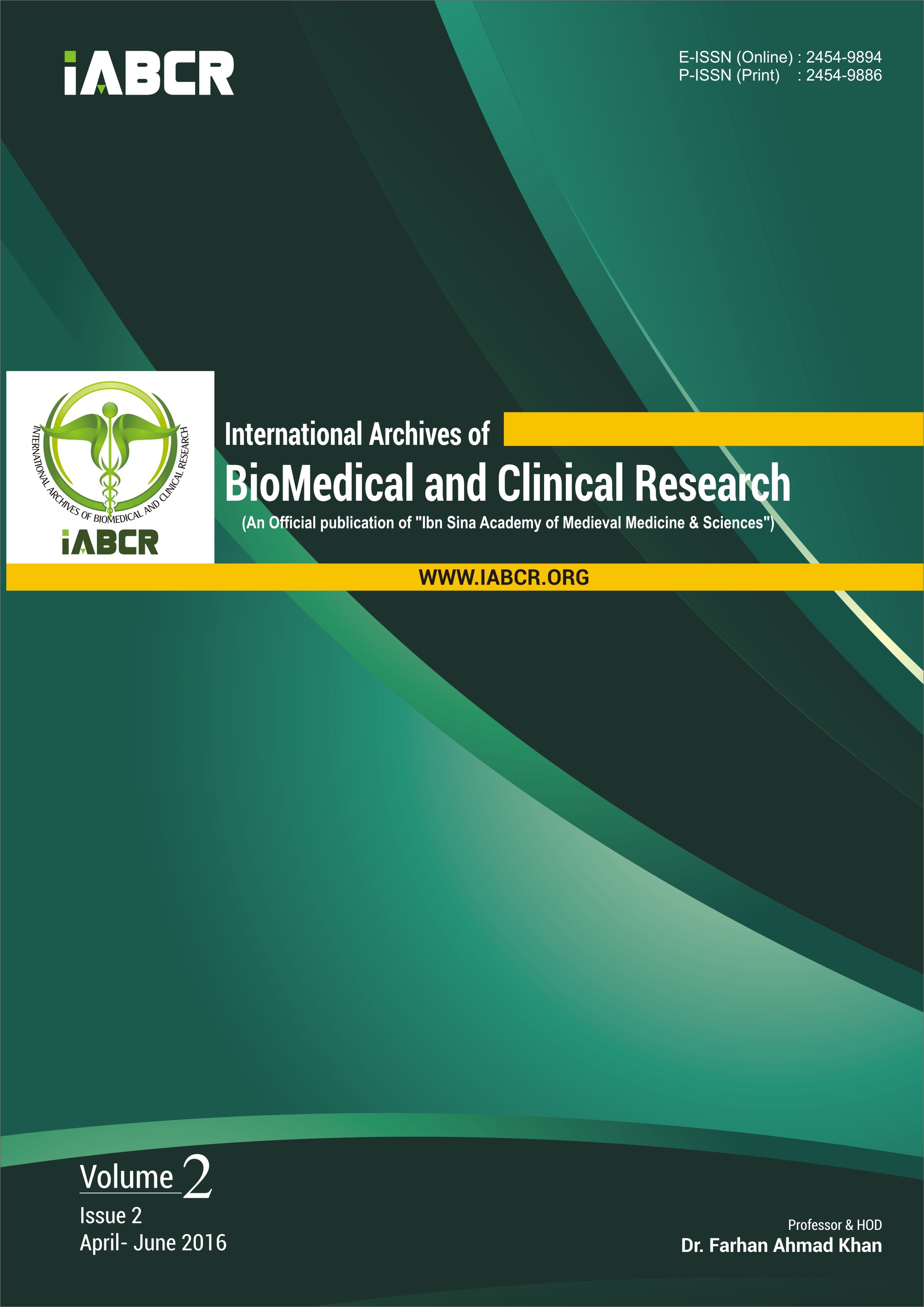 Aims & Scope | International Archives of BioMedical and Clinical ...